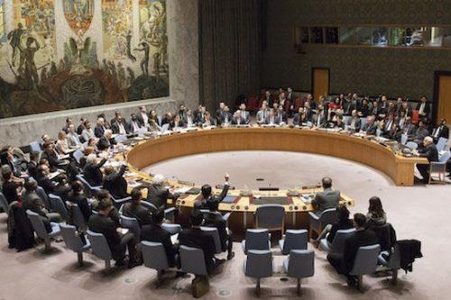 """מועצת הבטחון של האו""""ם. לימדה את הימין הקיצוני משהו על מגבלות הכוח (UN Photo/Loey Felipe)"""
