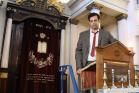 ערן כהן, במעמד צילום קליפ הבחירות שלו (ליה סויסה)