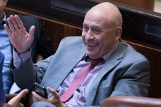 באסל גטאס במליאת הכנסת (צילום: יונתן זינדל, פלאש90)