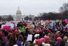 צעדת חצי מליון הנשים בוושינגטון (דניאל נירנברג / Just Vision)