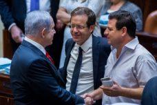 איימן עודה וראש ממשלת ישראל בנימין נתניהו, השקעה לצד גזענות חמורה (צילום: יונתן זינדל, פלאש90)