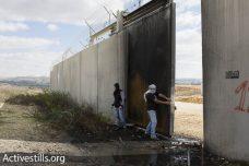 להגביר את שיתוף הפעולה בין פלסטינים משני צידי הקו הירוק