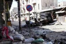 חורבן העיר חאלב במהלך מלחמת האזרחים (צילום ויקיפדיה)