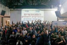 כינוס מחאה של המנופאים (דוברות ההסתדרות)