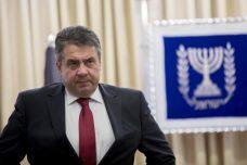 שר החוץ הגרמני זיגמר הרטמוט גבריאל בביקורו השבוע בישראל (צילום: יונתן זינדל, פלאש90)