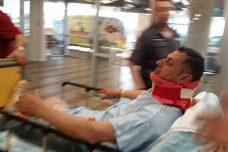 """שוטרי מג""""ב ירו כדור ספוג בראשו של מנהיג מאבק לא-אלים בגדה"""