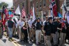 מפגן שנאה של תומכי עליונות לבנה בשרלוטסוויל וירג'יניה (צילום: רודני דנינג/פליקר CC BY-NC-ND 2.0)