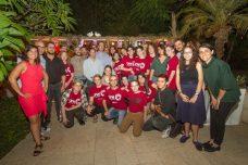 השגריר הבריטי ובן זוגו אירחו את ארגון הנוער הגאה בישראל
