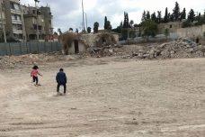 מה שנותר לאחר ההריסות באזור השוק בעיר העתיקה בלוד (איה זינאתי)