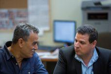 חברי הכנסת איימן עודה וג'מאל זחאלקה, הרשימה המשותפת (צילום: יונתן זינדל, פלאש90)