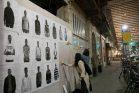 מאות פורטרטים של מבקשי מקלט נתלו בתל אביב 23.02.2018 (צילום: אקטיבסטילס)