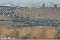 צעדת השיבה בעזה: אש חיה על עשרות אלפי מפגינים. 14 נהרגו