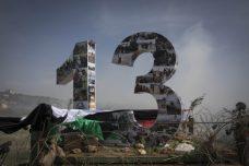 מאות מפגינים ציינו 13 שנות מאבק נגד הגדר בכפר בלעין