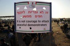 בתמונות: כך נראית מחאת האוהלים בגבול עזה כשהצבא לא יורה עליה