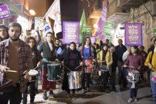 """מאות צעדו בירושלים במחאה על העברת שגרירות ארה""""ב"""