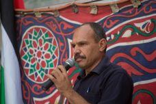 עאיד מוראר, מנהיג המאבק העממי בבודרוס נגד הגדר (אורן זיו / אקטיבסטילס)