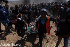 60 הרוגים ומעל ל-2,400 פצועים בהפגנות בעזה