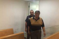 רג'א אגבאריה מובא לדיון בהארכת מעצרו בבית משפט השלום בחיפה. (יואב חיפאווי)