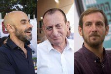 אסף זמיר, רון חולדאי, אסף הראל (צילומים: פלאש 90, אקטיבסטילס)