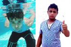 עו'תמאן חילס, בן 14 (מימין). עז א-דין א-סמאכ בן 13. ילדים נהרגים על הגדר בעזה