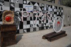 """אלמונים השחיתו עבודות בבית האמנים בת""""א וריססו ״בוגדים״"""