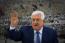 הנשיא הפלסטיני מחמוד עבאס במהלך דיון ברמאללה. 22 בדצמבר 2018 (פלאש 90)
