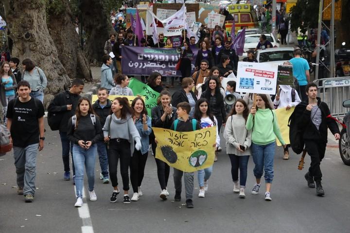 מצעד האקלים בתל אביב (צילום: אורן זיו / אקטיבסטילס)