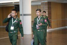 """למרות הטענות לרצח עם: נציגי צבא מיאנמר בתערוכת נשק בת""""א"""