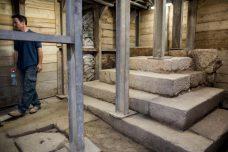 בקרוב אפשר יהיה לעבור במנהרות מתחת לכל העיר העתיקה בלי לראות אף פלסטיני. חפירה של רשות העתיקות בסילוואן-עיר דוד (צילום: יונתן סינדל / פלאש 90)