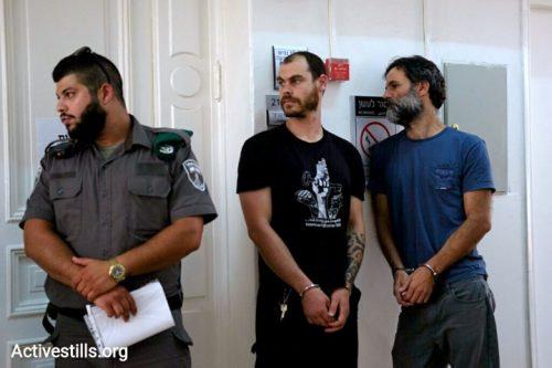 צו מעצר לפעיל שמאל בעקבות קובלנה פלילית של ארגון ימין