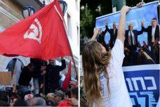 בישראל ובתוניסיה הבחירות הבהירו למנהיגים שהאזרחים רוצים שינוי