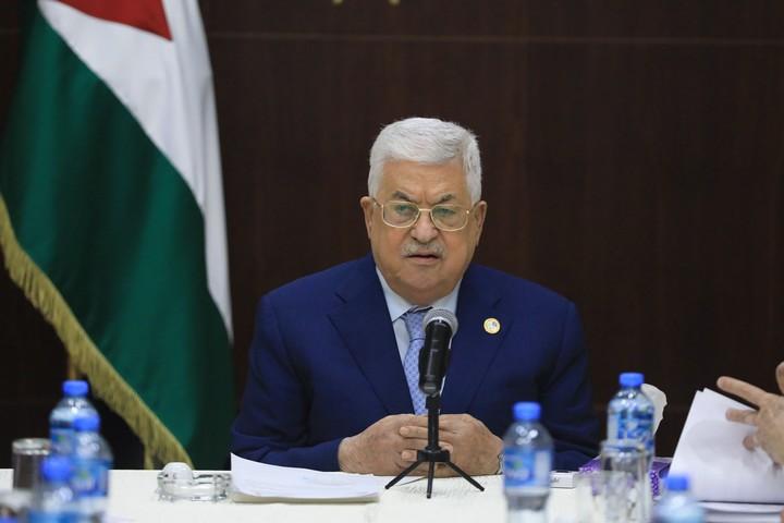 נשיא הרשות הפלסטינית, אבו מאזן, ב-3 באוקטובר 2019 (צילום: פלאש90)
