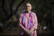 הפעילה הפמינסטית אסתר עילם (צילום: אורן זיו)