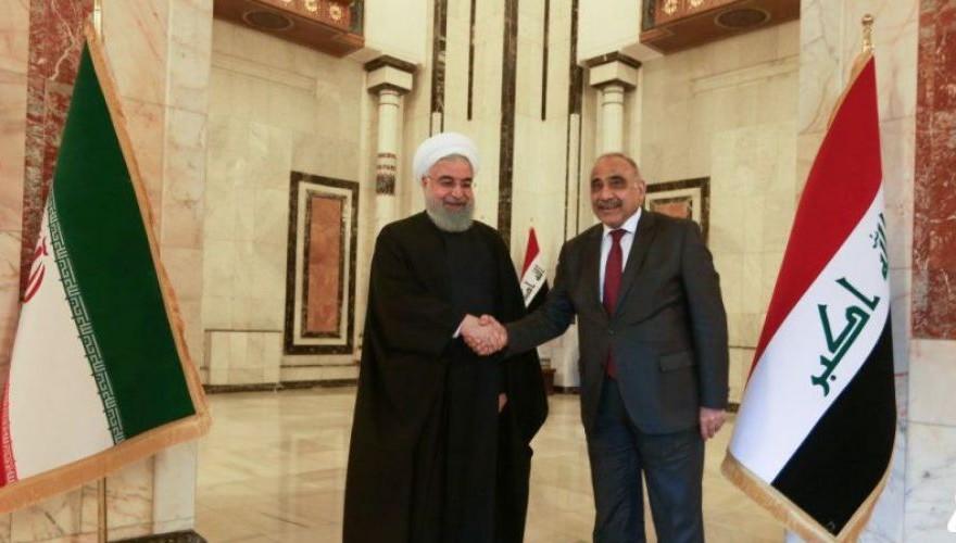 עאדל עבד אלמהדי ונשיא איראן, חסן רוחאני