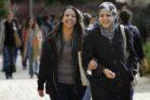 סטודנטיות ערביות באוניברסיטה העברית (צילום: מרים אלסטר / פלאש90)