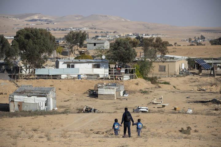 הכפר הבלתי מוכר ביר אל חמאם בנגב (צילום: אורן זיו)