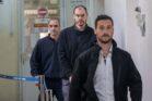 יונתן פולק בבית משפט השלום בירושלים (צילום: יונתן זינדל / פלאש 90)