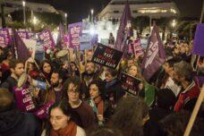 """הפגנה בת""""א נגד ה""""טרנספר"""" של המשולש: """"רעיון מטורף ומצמרר"""""""