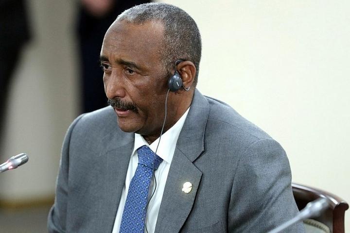 עבד אל-פתאח אל-בורהאן, מנהיג סודן (צילום: הקרמלין)