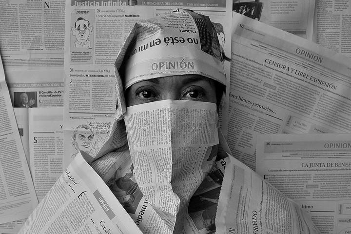 חוסר השקיפות של הצנזורה הוא תופעה מדאיגה. קמפיין בעד חופש העיתונות (צילום: אהדיה אשרף cc by-nc-nd 2.0)