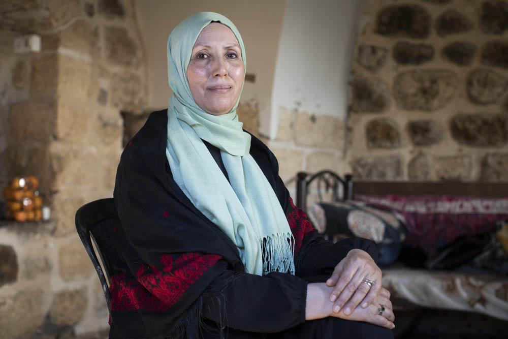 """רוצה לשמור על הזהות הפלסטינית-מוסלמית בתוך עבודת הכנסת. אימאן חטיב, הח""""יכת הראשונה מהרשימה האיסלאמית (צילום: אורן זיו)"""
