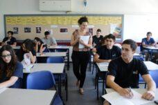 בחינות הבגרות הן שיא הבירוקרטיה של משרד החינוך. בחינת בגרות בחולון (צילום: יוסי זלינגר / פלאש 90)