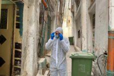 מגפה קטלנית בשער והפלסטינים מעבר לגדר בי-ם מופקרים לגורלם
