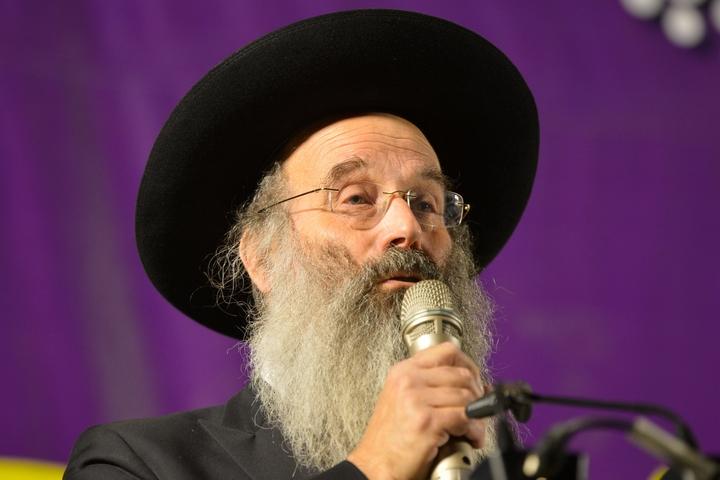 ראש עיריית בני ברק, אברהם רובינשטיין (צילום: יהודה חיים / פלאש90)