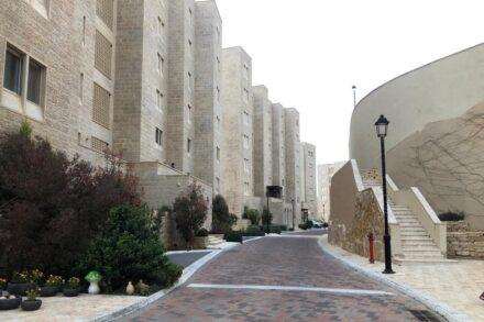 רחוב ברוואבי, בסוף מרץ 2020 (צילום: מייסלון דלאשה)