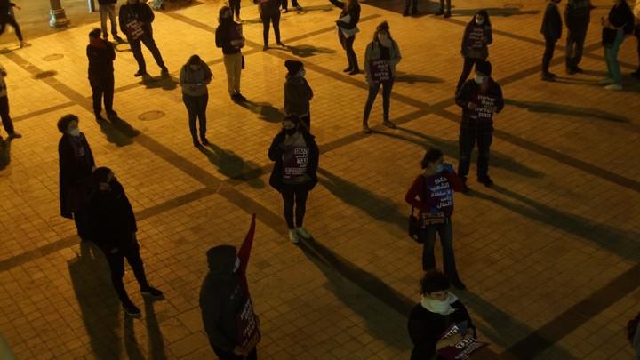 """הפגנה """"העם נגד המנותקים"""" בירושלים (צילום: עומדים ביחד)"""