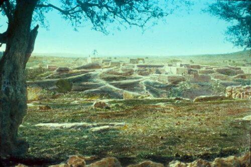 רצף היסטורי של 700 שנה לפחות. הכפר זכריא בתחילת המאה העשרים