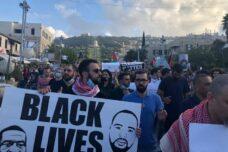 """מפגינים בת""""א, חיפה וי-ם: חיי שחורים ופלסטיניםחשובים"""