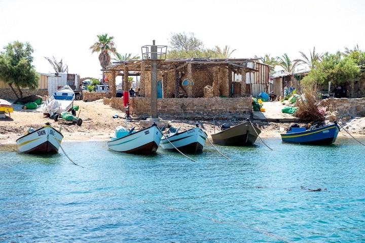 כפר הדייגים בג'סר א-זרקא (צילום: אנג'ליק עבוד)