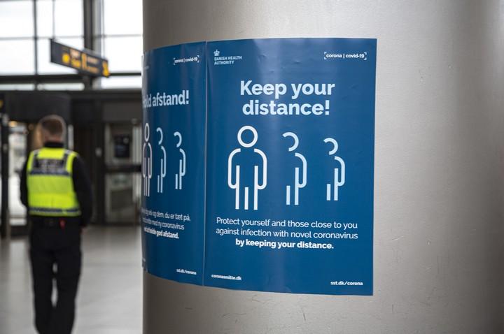 גם ההוראות לחזרה לשגרה ניתנו באופן מסודר. תחנת רכבת בקופנהאגן (צילום: orsund CC BY 2.0)
